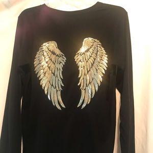 NWOT Kings of Cole Angel Wing Long Sleeve T Shirt